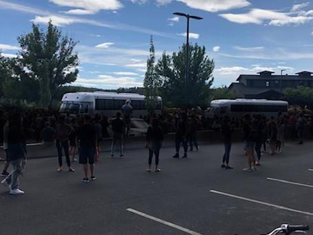 Activists Block ICE in Bend Oregon