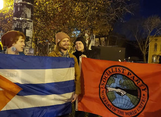 Capital District SP Joins Cuba Solidarity Rally in Albany, NY