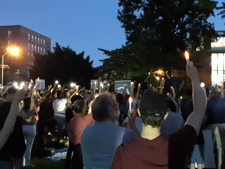 SP Members Join Actions to Close the Camps Across the U.S.