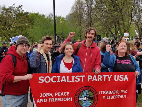 May Day in Boston