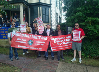 Socialist Party of New Jersey at the Paterson Labor Day Parade