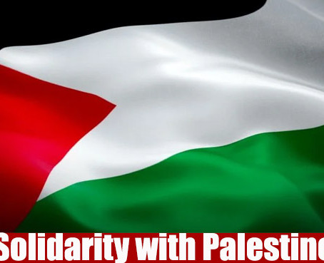 Statement of Solidarity with Palestine