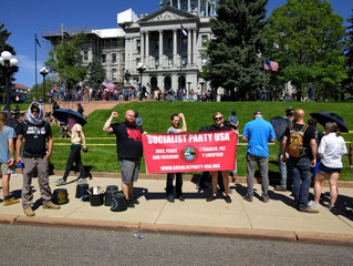 "Front Range Local protest ""March Against Sharia"""