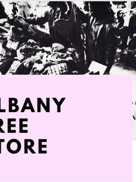Capital District NY Local Supporting the Albany Free Store