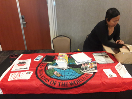 Socialist Party Los Angeles Local at the Junior States of America Winter Conference