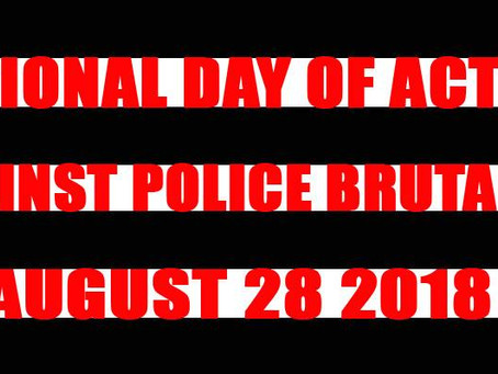 Socialist Party USA's National Day of Action Against Police Brutality