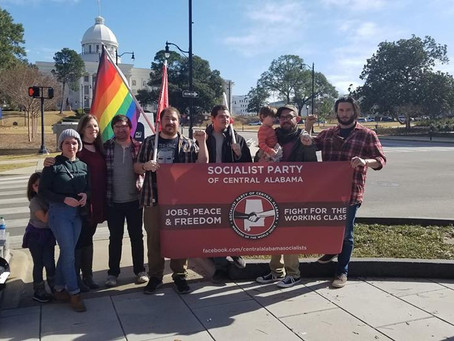 Alabama Socialists Join the Montgomery Women's March