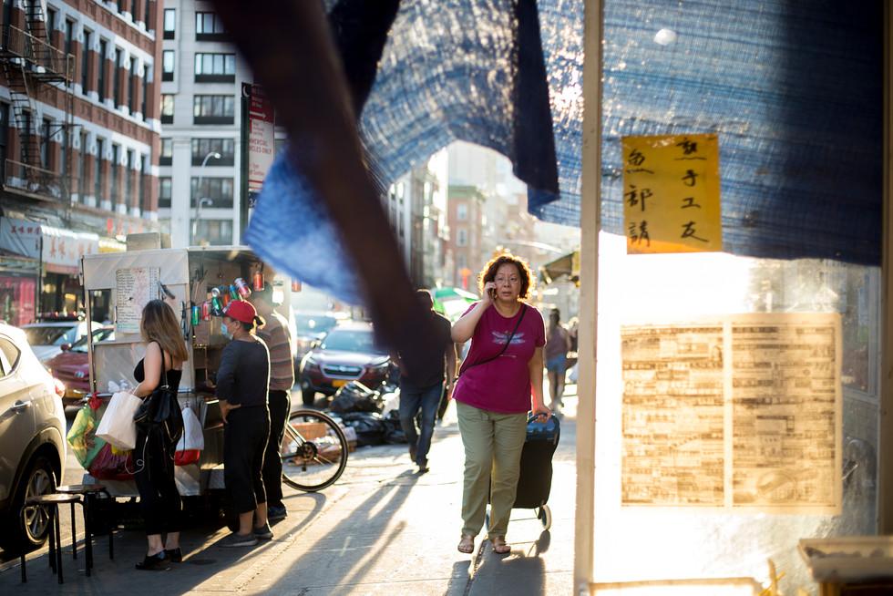 Summer in Chinatown