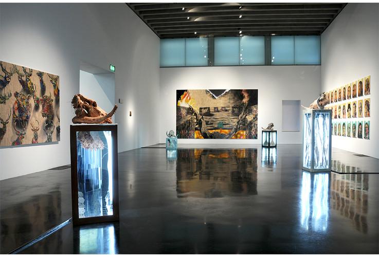 'The Four Horsemen of the Apocalypse', New Art Gallery Walsall, UK 2009
