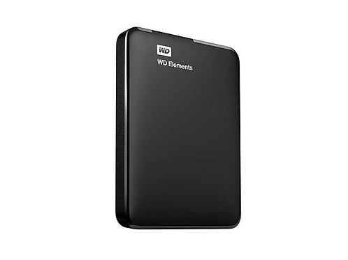 HD WD Externo Portátil Elements USB 3.0 1TB