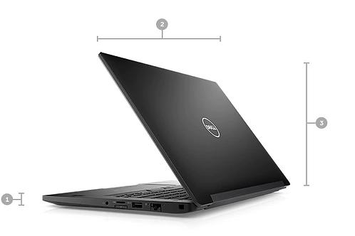 Notebook  Dell Latitude 7480 Core I5 7 Geração 8GB M.2 256GB W10 Pro
