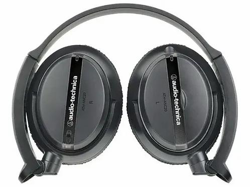 Fone Audio Technica Ath-anc20 Cancelamento Ruido Quiet Point