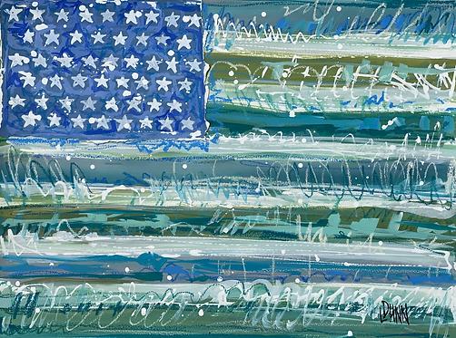 """""""Stars and Stripes, II"""""""