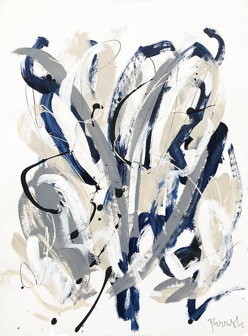 'Blue Botanical I'
