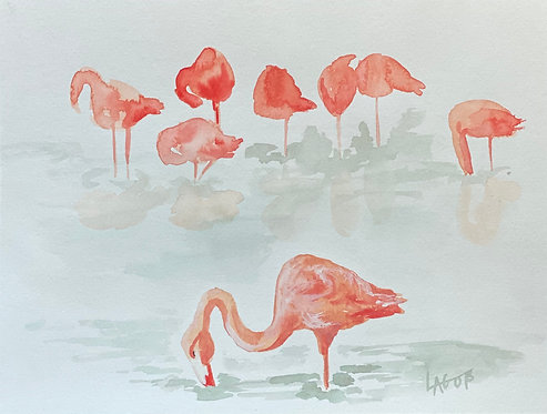'Coral Bathers'