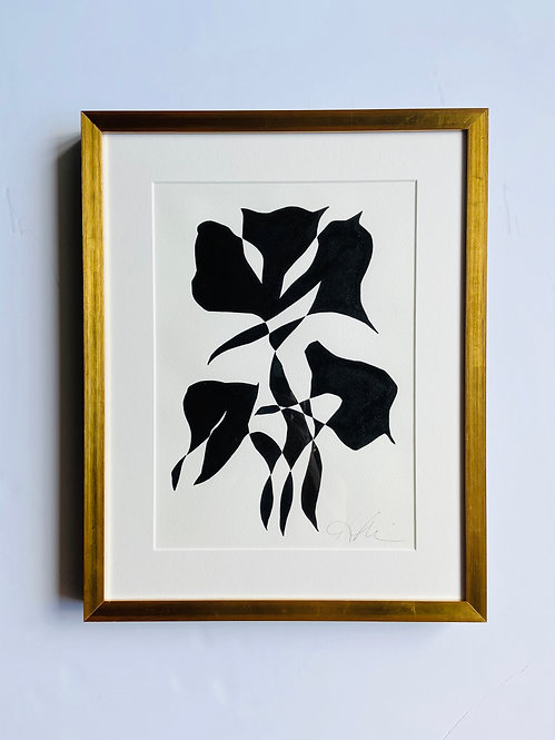 black and white botanical 6
