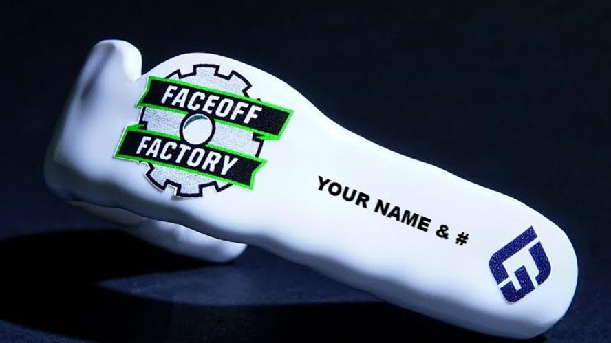 Face Off Factory Boil and Bite with custom name and number