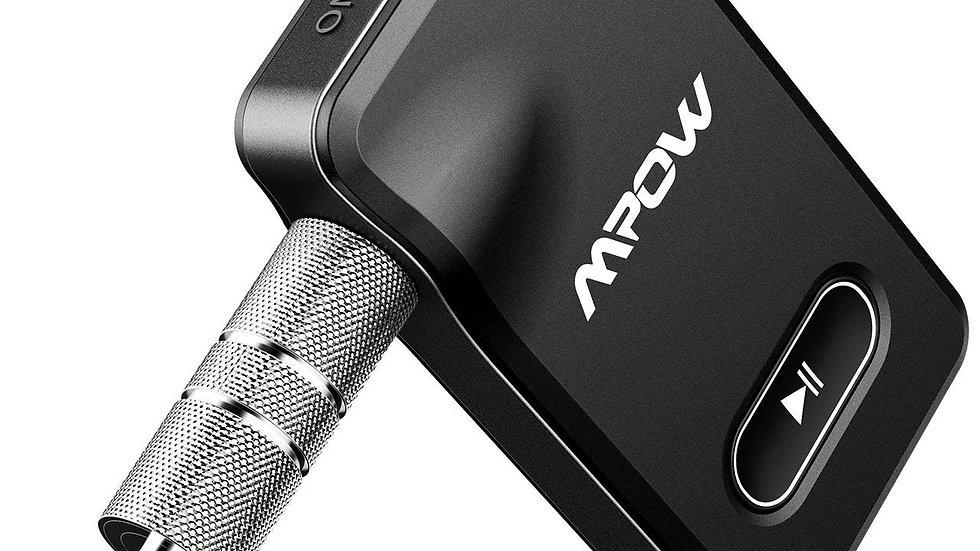 pow BH129 Bluetooth Receiver for Car Hands-Free Calls