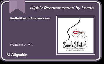 SmileSketch Alignable Logo