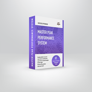Master Peak Performance System (mockup w