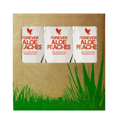 Tri Pack Aloe Peaches