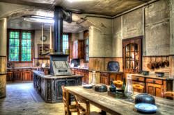 Ancient kitchen