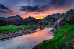 River in malibu