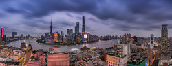 Shanghai magic panorama