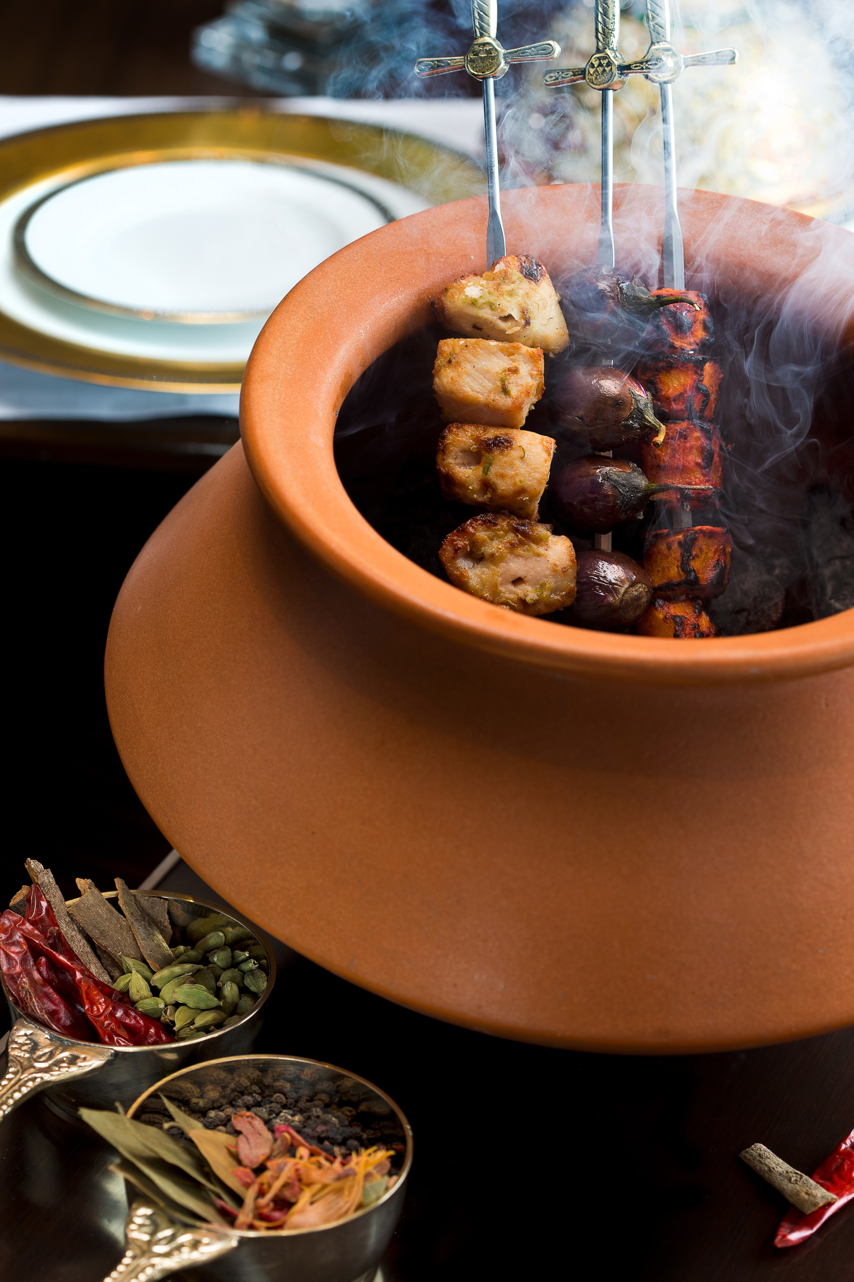 From the Tandoor