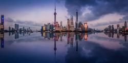 Reflection at shanghai
