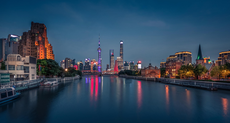 Shanghai waibaidu bridge 2