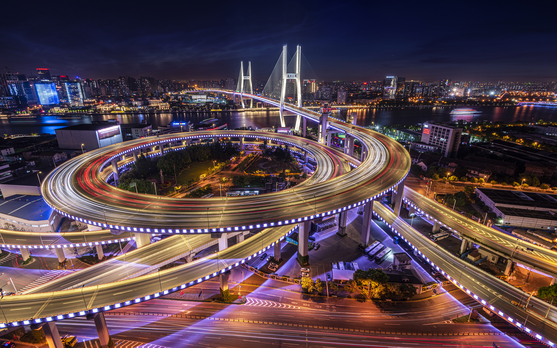 Wide Nanpu bridge