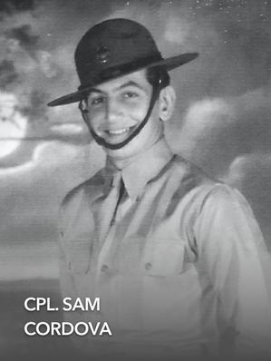 CPL. SAM CARDOVA