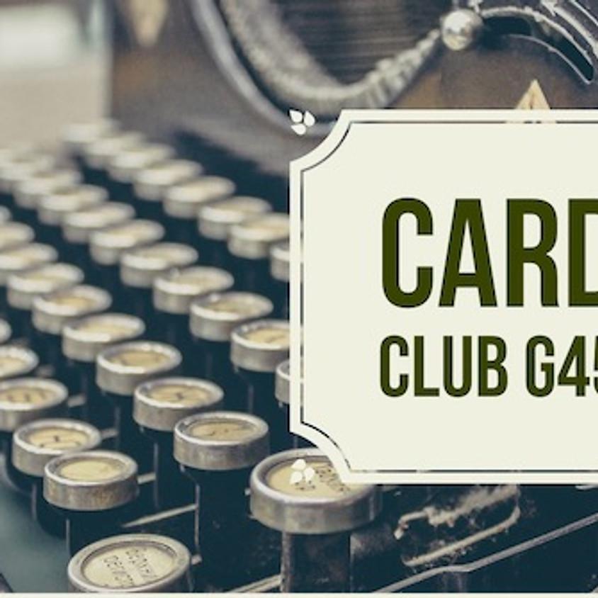 Card Club G45