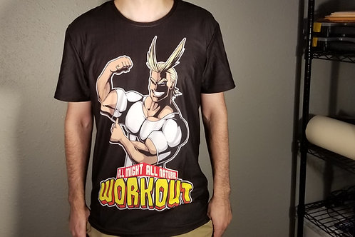 ALL MIGHT ALL NATURAL WORKOUT  Tee