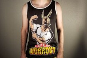 All Might All Natural Workout Tank Top