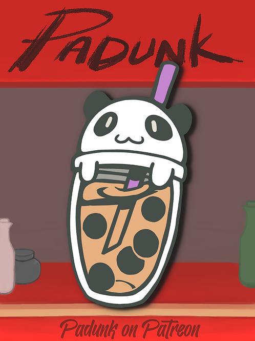 """Boba Panda 2"""" Enamel Pin"""