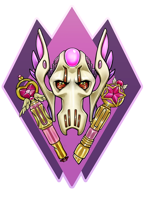 """General Grevious 4x5"""" Holographic Sticker"""