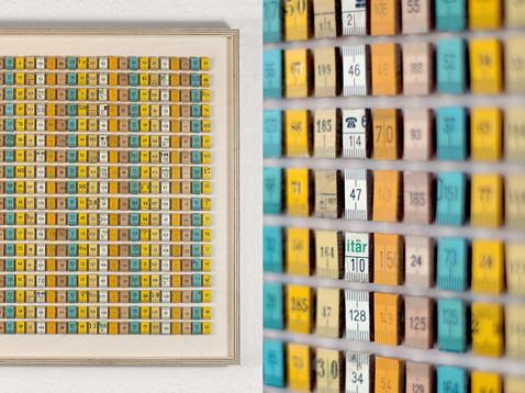 Das Maß der Dinge I /// Birke Multiplex, 42 x 43 cm, 2013