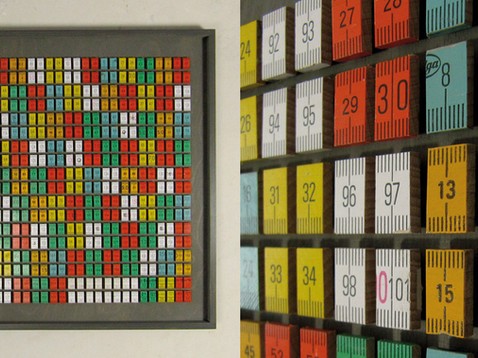 Das Maß der Dinge II /// Birke Multiplex, 42 x 43 cm, 2013