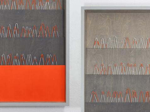 Nadelwald /// Baubohle, 104 x 54 cm, 2012