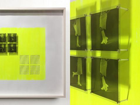 Streif Rock /// Kiefer, weiß, 58 x 60 cm, 2015
