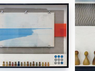 Landschaftsspiel I /// Birke Multiplex, 40 x 53 cm, 2015