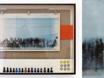 Landschaftsspiel II /// Birke Multiplex, 40 x 53 cm, 2015