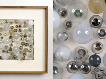Leuchtmittel /// Nussbaum, natur, 45 x 45 cm, 2012