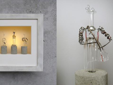 Diven Deluxe /// Eiche, gekalkt, 20 x 20 cm, 2012
