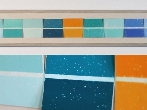 Farbwahl I /// Erle, lasiert, 19 x 105 cm, 2012