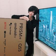 PRISM+ Q55 ANDROID TV | 2020