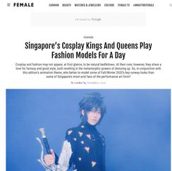 FEMALE SINGAPORE   2020