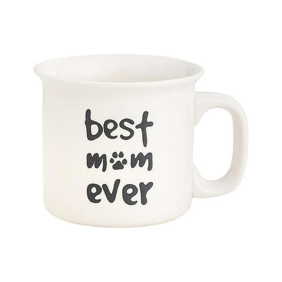 Mug - Best Mom Ever (Pawprint)